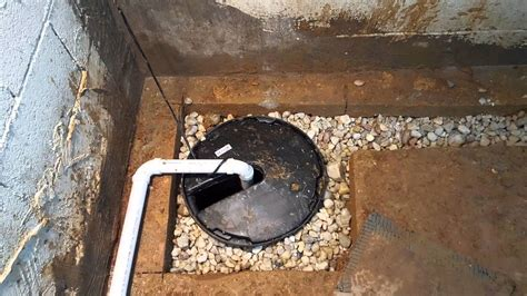 sump in basement how to install sump basin and sump in flooded