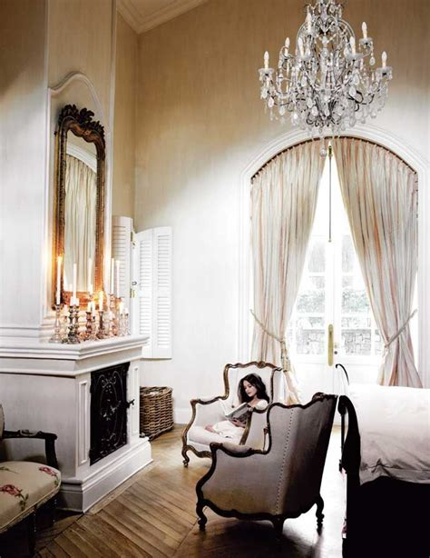 french inspired home decor romantic bedroom house leisure magazine aug 2011