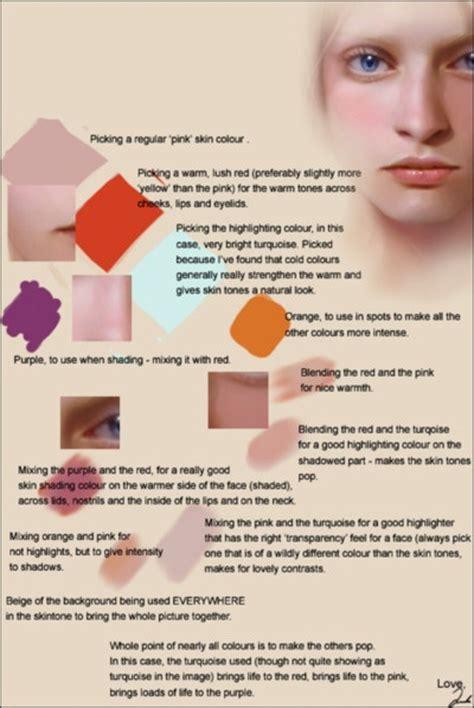tutorial wpap skin tone 141 best character anatomy skin images on pinterest