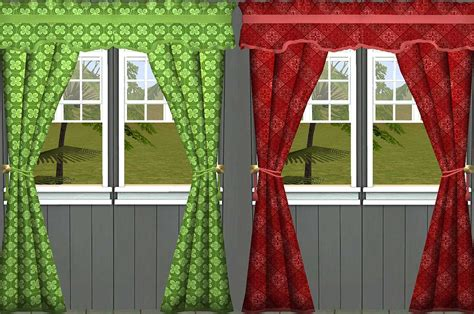 sims 3 curtains mod the sims modified ambrosia curtains and 20 recolors