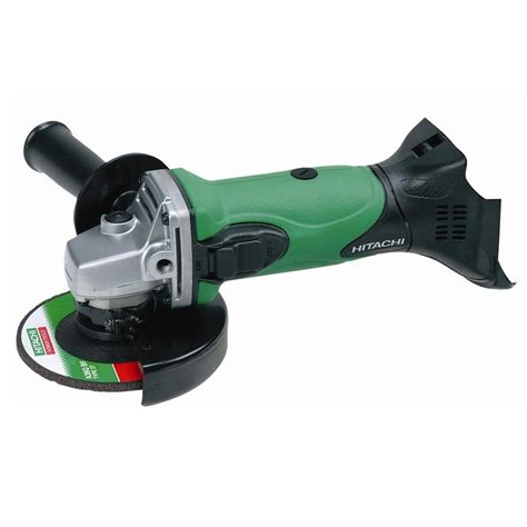 hitachi bench grinder hitachi 18v lithium ion slide 125mm angle grinder tool