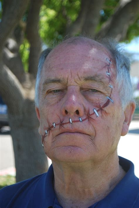 stitches face 73 best theatre makeup images on artistic make