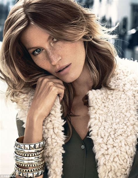Giseles New Not Shabby by Gisele Bundchen Sings Rock Classic In New Caign For H M