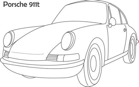 Coloring Pages Porsche Coloring Home Porsche Coloring Pages