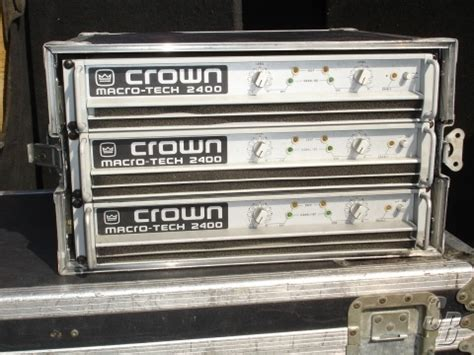 Power Lifier Crown Macro Tech lifier product listing soundbroker