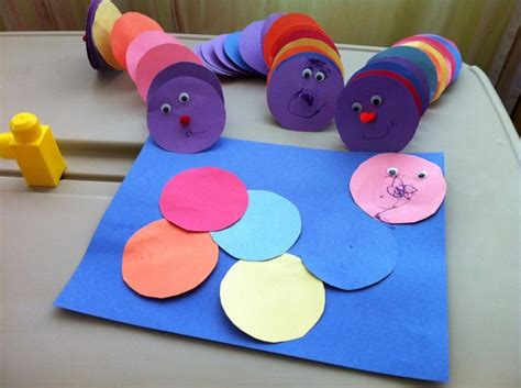 crafts for babies caterpillar craft for toddlers and preschoolers at daycare