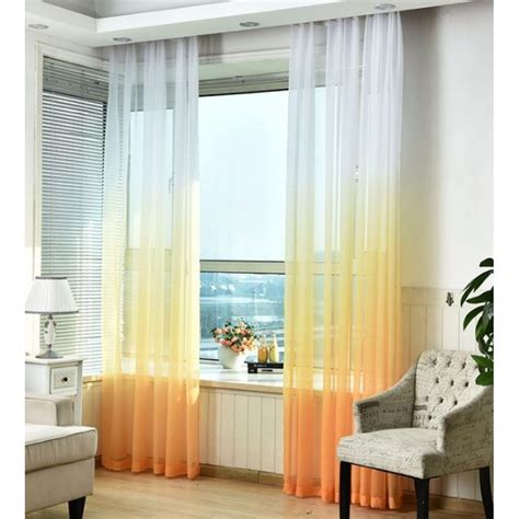 ombre sheer curtains luxury ombre sheer curtains