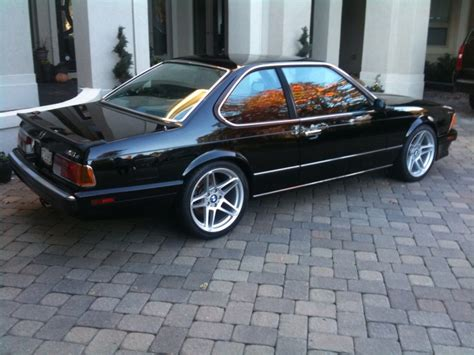 1988 bmw m6 series 1988 bmw 6 series m6 rear qtr german cars for sale blog