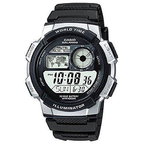 Adidas Digital Waterresist casio uhr ae 1000w 1a2 digitaluhr armbanduhr herren