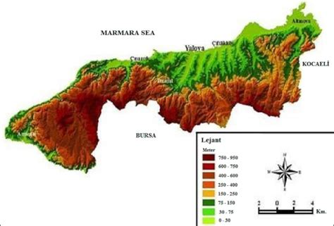 yalova potential organic agricultural land of turkey