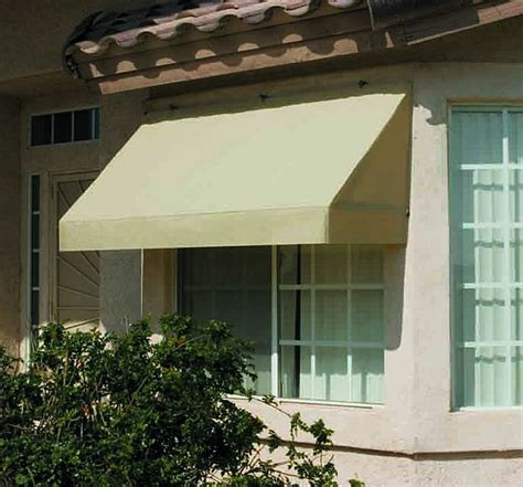 classic retractable canvas window awning 8ft relacement