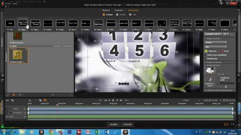 tutorial video pinnacle tutorial como hacer tu propio menu con pinnacle studio 18