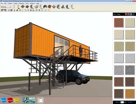 home design entrancing container home design software