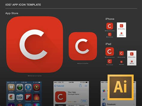 25 Best Ios App Icon Templates To Create Your Own App Icon 365 Web Resources App Icon Template Illustrator