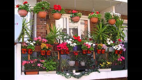 garden ideas balcony plant pots ideas youtube