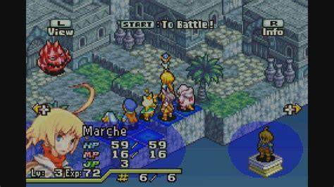 final fantasy tactics advance gba game boy advance
