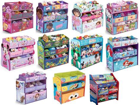 kid toy storage kids girls boys disney multi bin toy organizer boxes