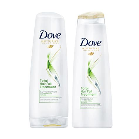 Harga Dove Hair Fall dove shoo total hair fall treatment 680ml daftar