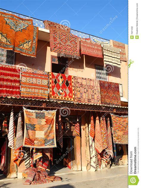 teppiche marrakesch marokkanische teppiche stockfotografie bild 7621432