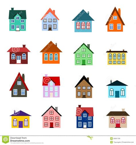 free cartoon house pictures house cartoon vector cartoon house icon stock vector illustration of icons