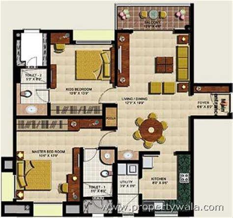 asia park floor plan l t park sirucheri chennai residential project propertywala
