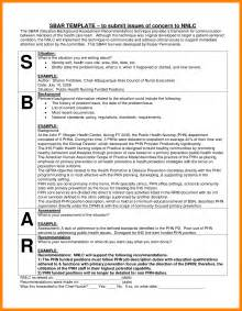 sbar template nursing 9 sle sbar report cinema resume