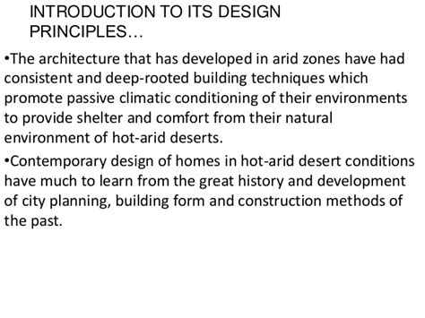 design guidelines for hot and dry climate hot dry climate