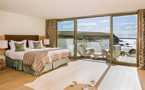 hotel with log fire in bedroom the scarlet hotel review newquay cornwall travel