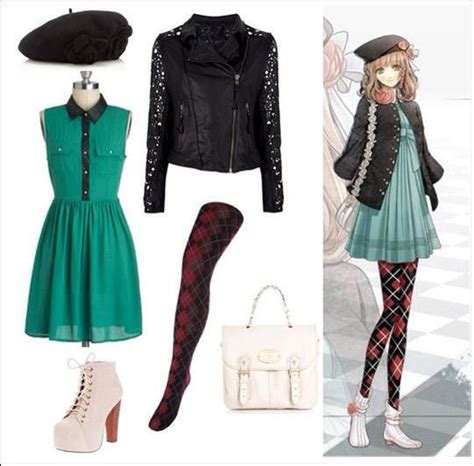 design clothes in real life cute outfits based on anime anime amino