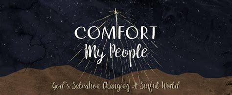 comfort my people christ community church ames