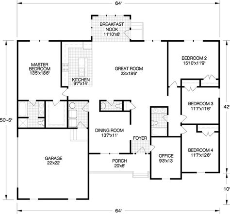 20 best images about ranch single story floorplans on