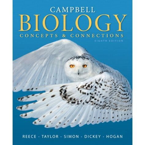 concepts of biology books cbell biology concepts connections 8e by b