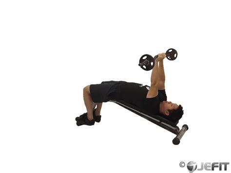 decline close grip bench press ez bar decline close grip skull crusher exercise