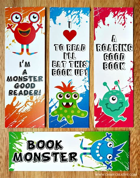 printable toddler books printable bookmark coloring pages for kids oh my creative