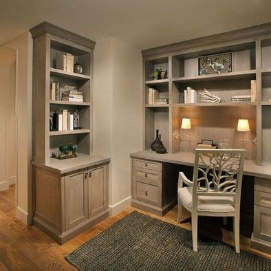 home office built in cabinets studio