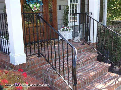 wrought iron front porch railings custom wrought iron porch railings raleigh nc