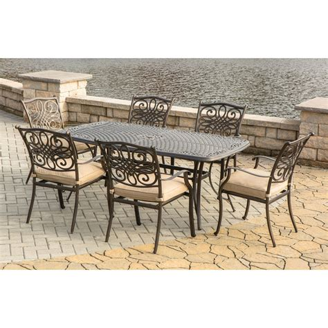 7pc Patio Dining Set Traditions 7pc Outdoor Dining Set Traditions7pc