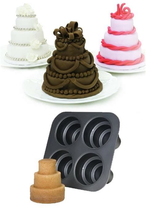How To Decorate A Tiered Cake by Multi Tier Mini Cakes For Treats