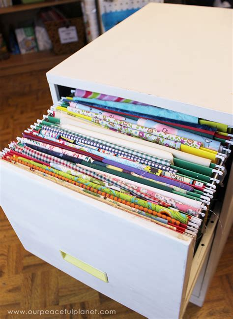 how to organize a file cabinet system organize fabric with a file cabinet