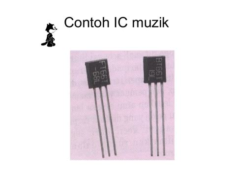 simbol ic integrated circuit elektronik t3