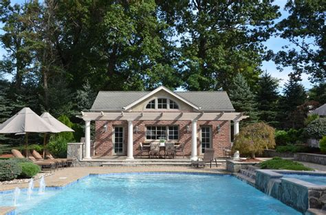 Home Plans With Pools Awesome Pool House Designs In Design Pool Pergola Pool Houses Pool House Plans
