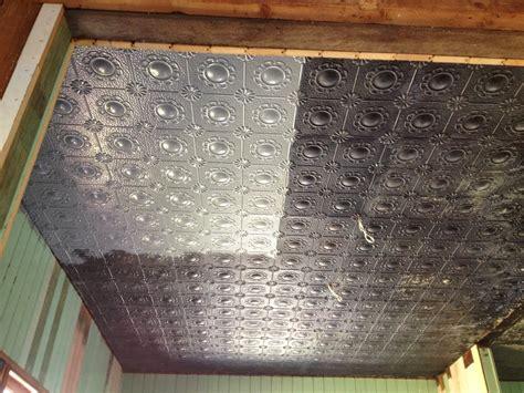 the old post office pressed metal ceiling restoration pt 2