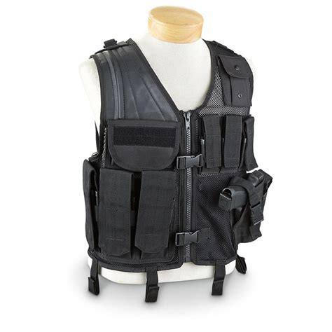 Stylish Vests by 5ive Gear Crossdraw Style Tactical Vest