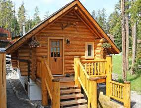 Small Home Kits Canada Banff Log Cabin Guesthouse