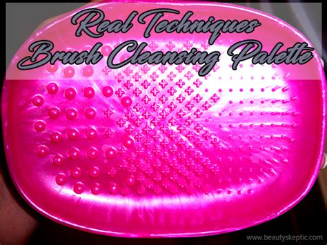 Real Techniques Rt Brush Cleansing Palette real techniques brush cleansing palette
