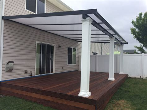 Deck Awning Options Patio Cover Gallery Awnings Deck Covers Portland Or