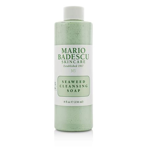 Seaweed Detox Soap by Mario Badescu Seaweed Cleansing Soap For All Skin Types