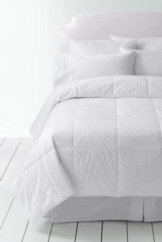 lands end down comforter pureloft synthetic down comforter and sham from lands end