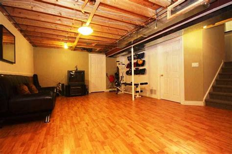 Basement Flooring Perfect For Unpredictable Oregon Weather Unfinished Basement Floor Ideas