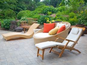 backyard tables modern outdoor furniture hgtv